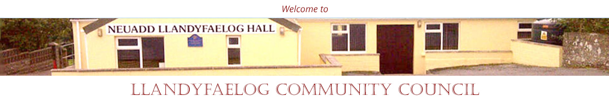 Header Image for Llandyfaelog Community Council - Eng